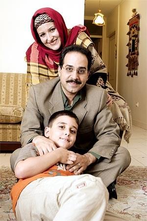 بیوگرافی محمد نظری و همسرش شیوا