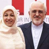 محمدجواد ظریف و همسرش + زندگی شخصی سیاسی