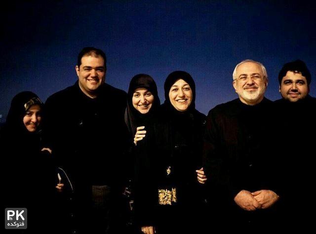 عکس خانوادگی دکتر جواد ظریف,عکس دختر و پسران دکتر ظریف,عکس داماد دکتر جواد ظریف,عکس عروس های دکتر جواد ظریف,عکس خفن و دیده نشده از خانواده دکتر جواد ظریف