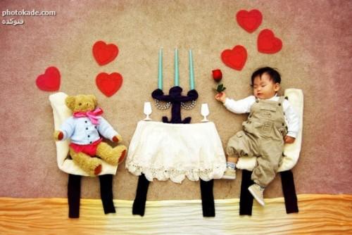 طرح مامان های خلاق برای بچه ها در خواب