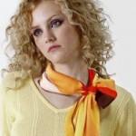 دستمال گردن زنانه و نحوی بستن