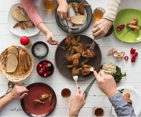 فواید و خواص زود خوردن شام برای سلامتی
