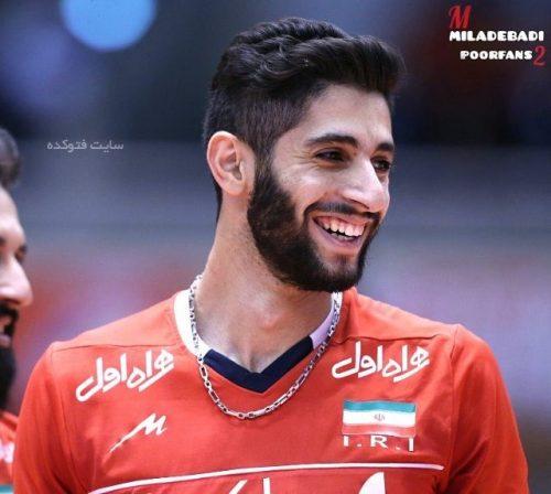 عکس میلاد عبادی پور والیبالیست + زندگینامه کامل شخصی