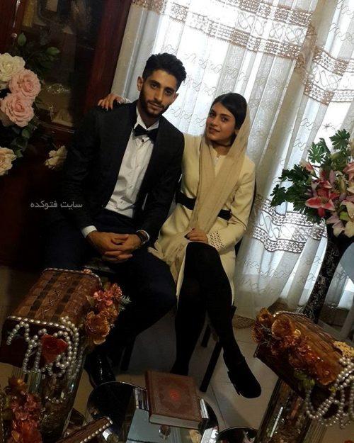 عکس میلاد عبادی پور و خواهرش فاطمه