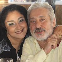 بیوگرافی ابی (ابراهیم حامدی) و همسرش مهشید برومند + ناگفته ها