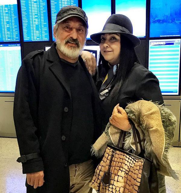بیوگرافی ابی و همسرش مهشید برومند