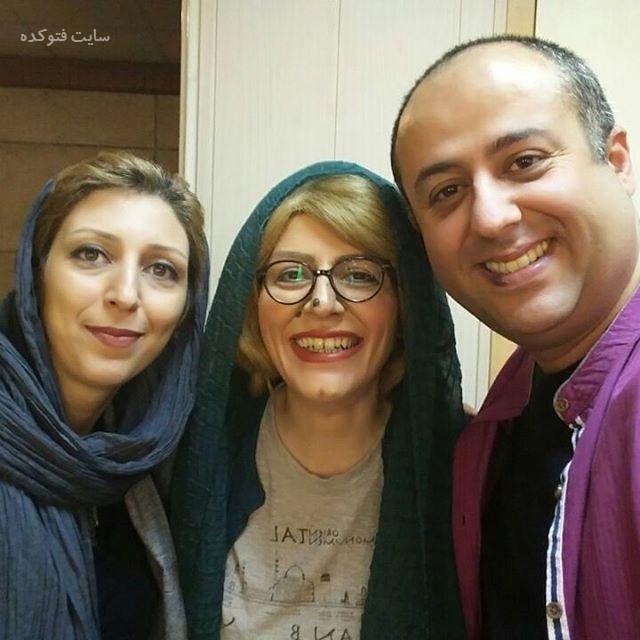 ابراهیم شفیعی و همسرش + سوسن پرور (وسطی) + بیوگرافی
