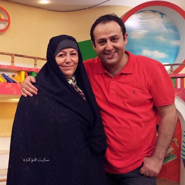 عکسابراهیم شفیعی و مادرش