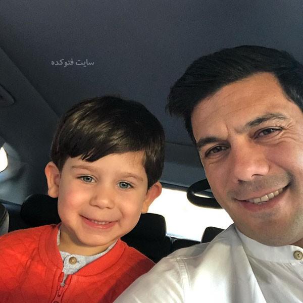 بیوگرافی ابراهیم شکوری و پسرش + عکس های جدید