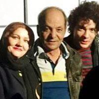 بهرام ابراهیمی و همسرش + زندگی شخصی هنری