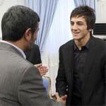 افشای اهدای مدال طلای سوریان به احمدی نژاد