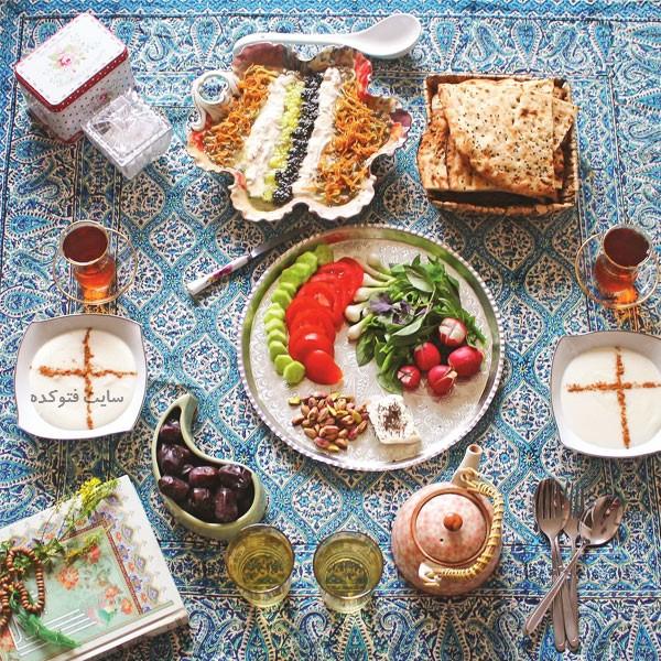 غذاهای مناسب افطار رمضان