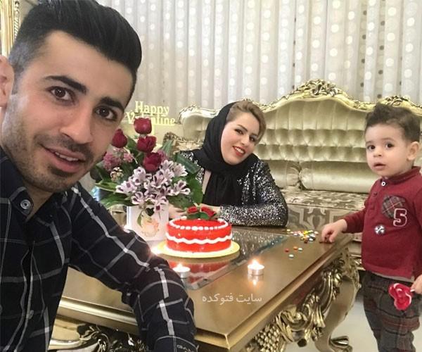 بیوگرافی احسان پهلوان بازیکن پرسپولیس با عکس همسر