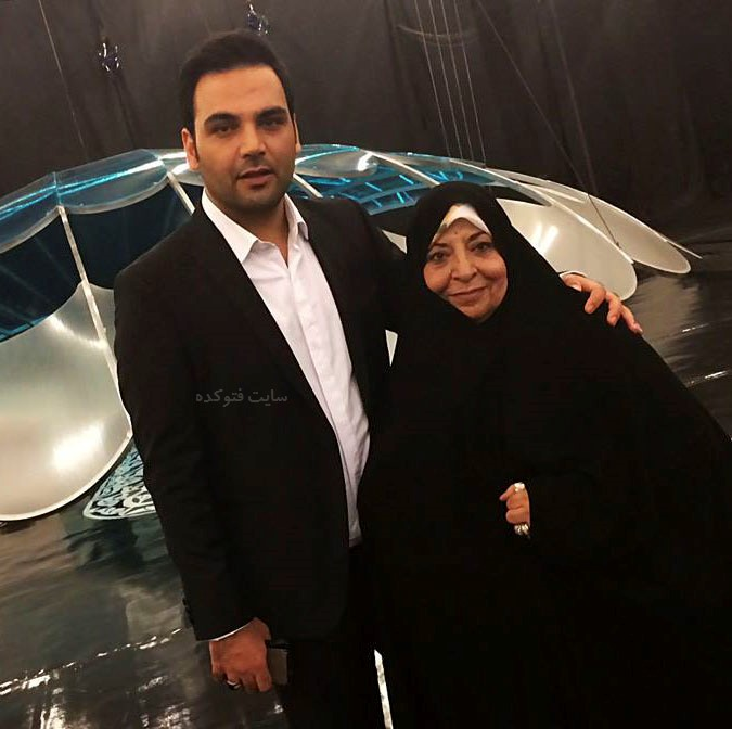 عکس احسان علیخانی و مادرش + بیوگرافی