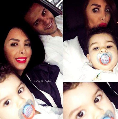 بیوگرافی احسان حق شناش و همسرش + عکس خانوادگی