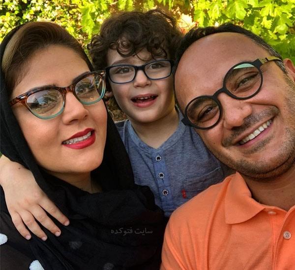 عکس و بیوگرافی احسان کرمی مجری