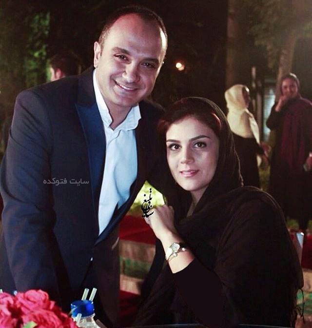 عکس احسان کرمی و همسرش + بیوگرافی کامل زندگی شخصی