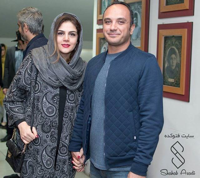 عکس احسان کرمی و همسرش + زندگینامه کامل