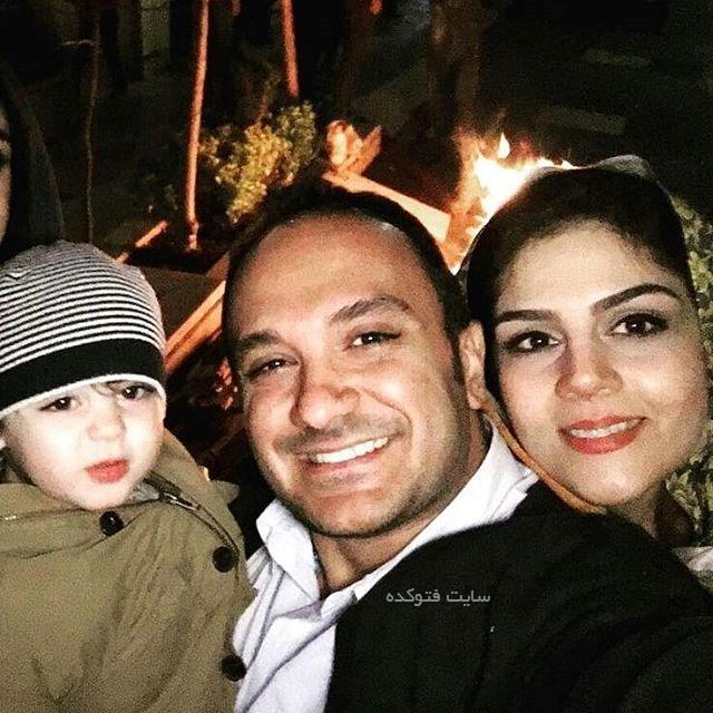 عکس و بیوگرافی همسر و نیکمهر پسر احسان کرمی