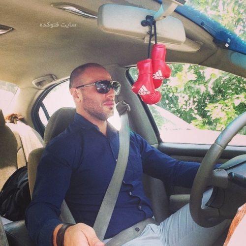 عکس ماشین احسان روزبهانی