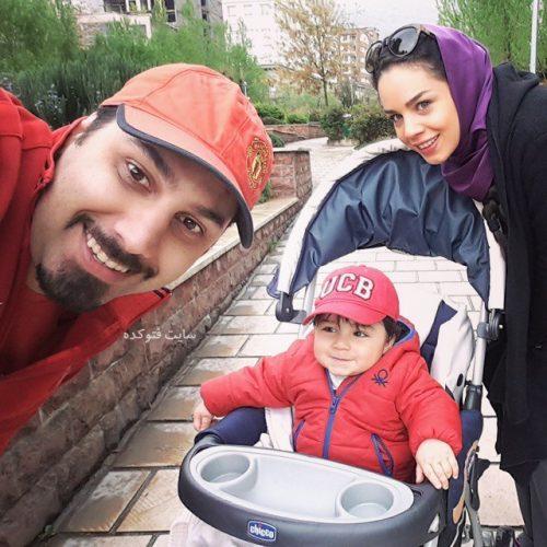 عکس خانوادگی احسان خواجه امیری