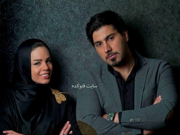 عکس احسان خواجه امیری و همسرش لیلا ربانی + زندگینامه