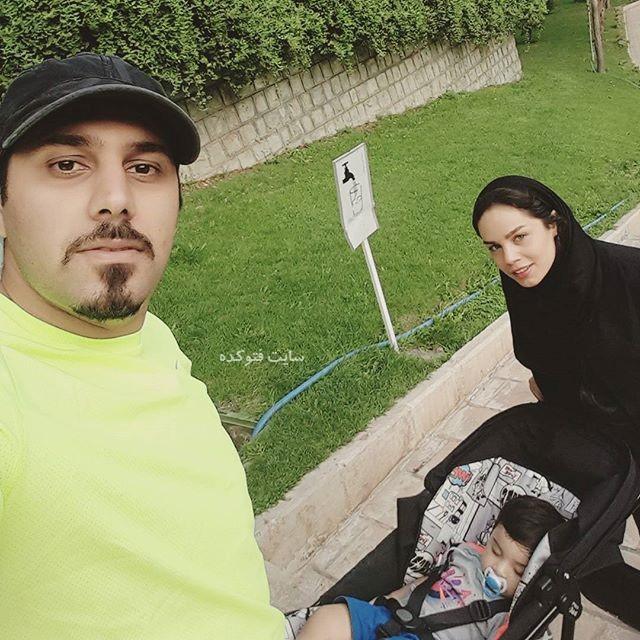عکس احسان خواجه امیری و همسرش لیلا ربانی + بیوگرافی