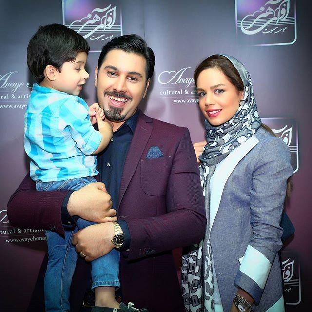 عکس احسان خواجه امیری و همسرش لیلا ربانی + بیوگرافی کامل
