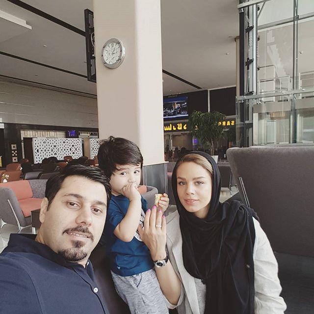 عکس خانوادگی احسان خواجه امیری + زندگینامه