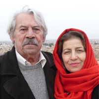بیوگرافی احترام برومند و همسرش + داستان زندگی شخصی