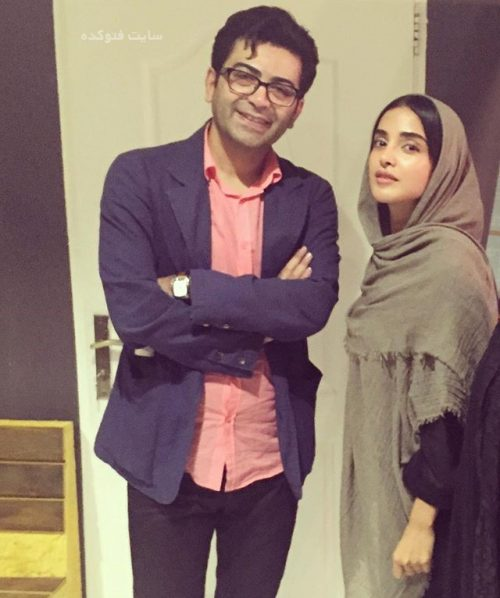 عکس الهه حصاری و فرزاد حسنی