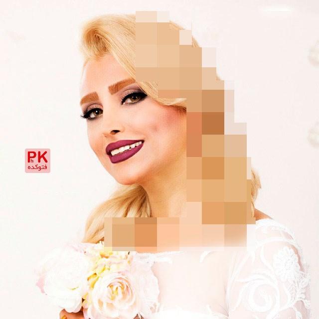 عکس الهام عرب در برنامه ماه عسل