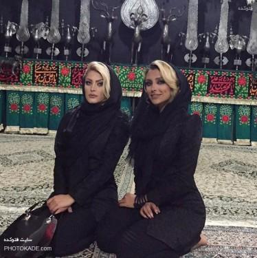 جنجال الهام عرب در هیئت عزاداری حسینی