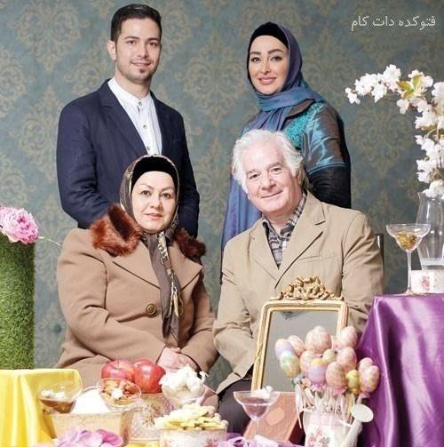 عکس خانوادگی الهام حمیدی