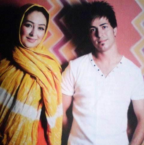 عکس الهام حمیدی و همسرش + بیوگرافی