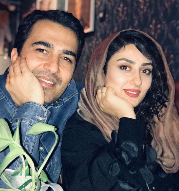 عکس الهام طهموری و همسرش حامد احمدجو + بیوگرافی