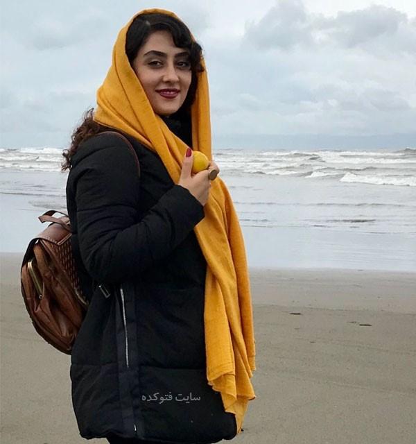 بیوگرافی الهام طهموری بازیگر کیست با عکس