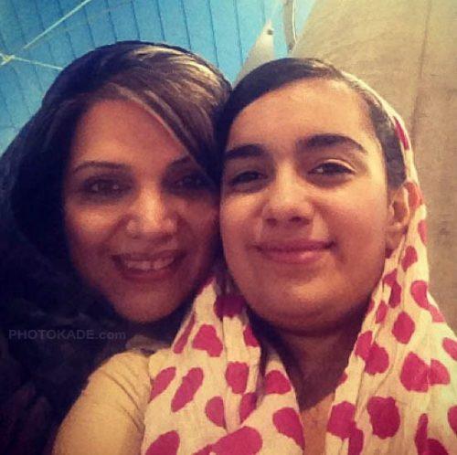 عکس الهام پاوه نژاد و دخترش کردیا + بیوگرافی