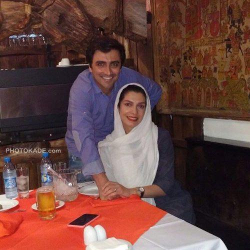 بیوگرافی امین زندگانی و همسرش الیکا عبدالرزاقی + عکس خانوادگی