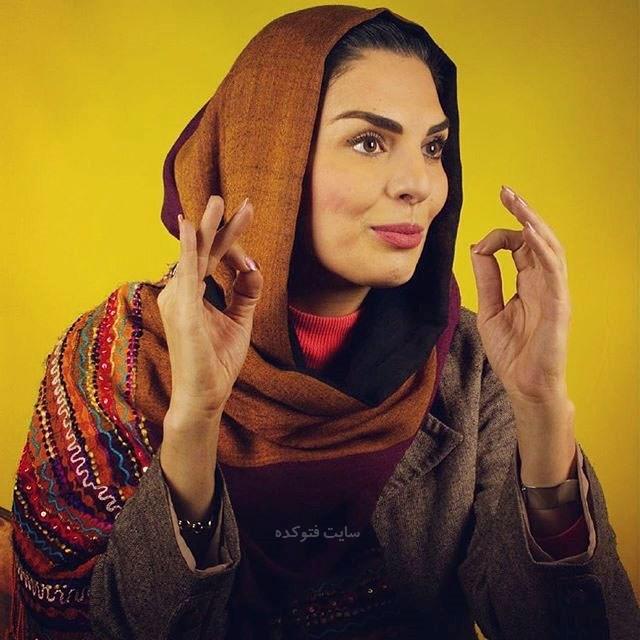 عکس الیزابت امینی بازیگر زن + بیوگرافی کامل