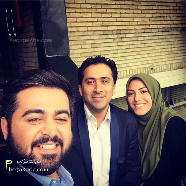 عکس های جدید و خانوادگی مجری شبکه خبر,عکس همسر مجری معروف شبکه خبر,عکس زوج خبرنگار شبکه خبر