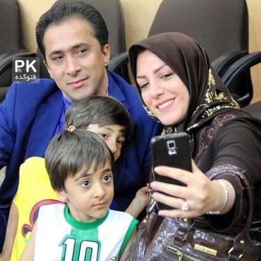 عکس بچگی خبرنگار زن با متن زیبا