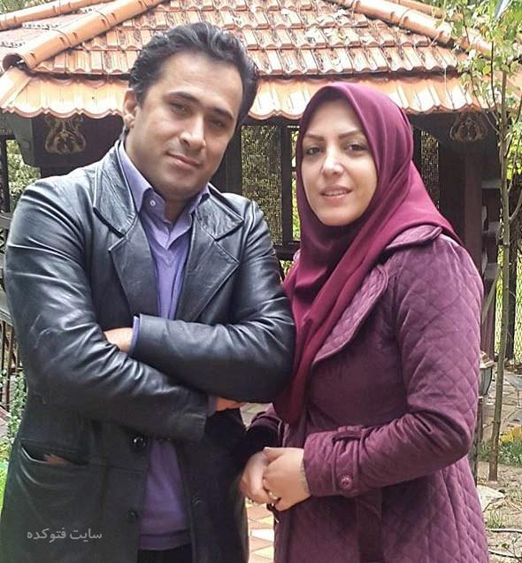 عکس المیرا شریفی مقدم و همسرش داوود عابدی + زندگینامه
