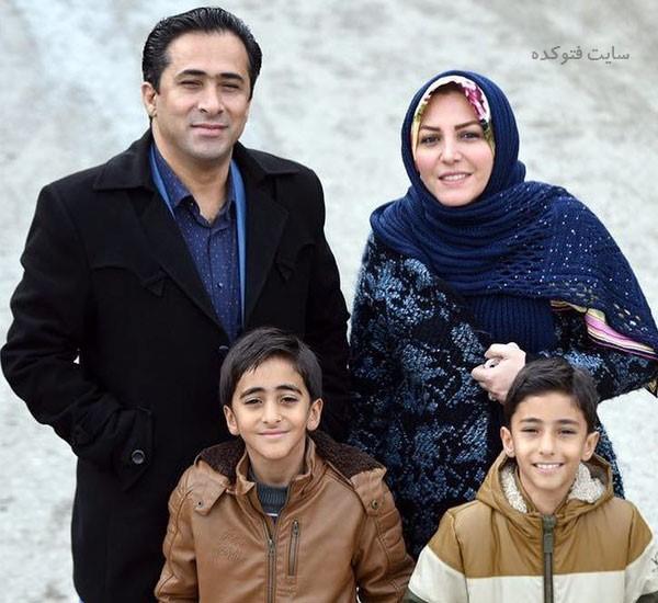 المیرا شریفی مقدم و همسرش