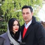 بیوگرافی الناز حبیبی و همسرش با عکس