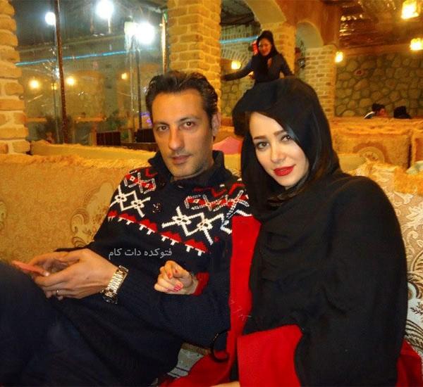 عکس الناز حبیبی و همسرش مهدی صاحب زمانی