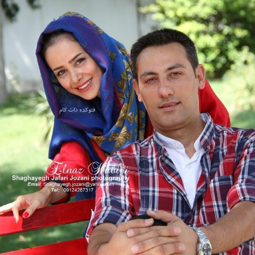 عکس الناز حبیبی و همسرش مهدی صاحب زمانی + بیوگرافی و علت طلاق