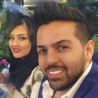 "عماد طالب زاده   عکس بیوگرافی ""عماد طالب زاده"" و همسرش"