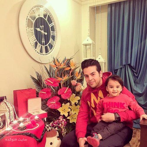 عماد طالب زاده و پسرش ساتیار