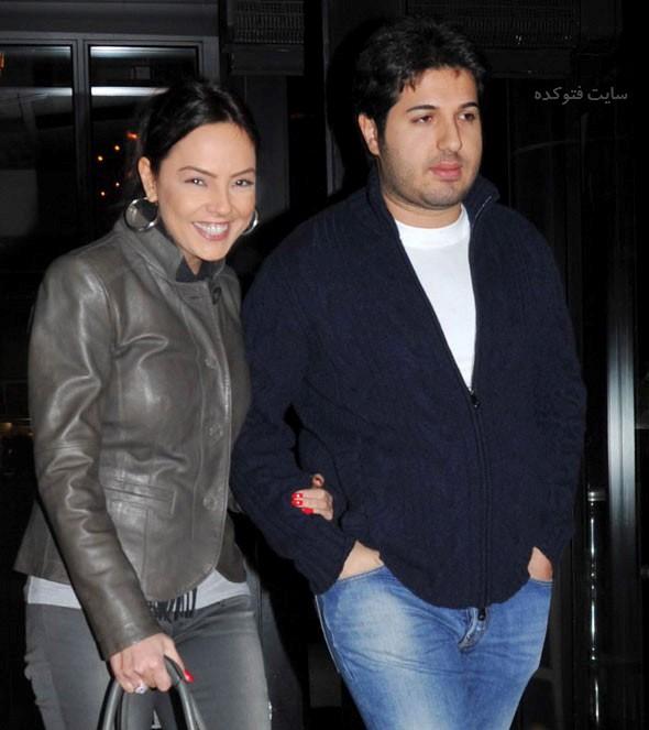 عکس ابرو گوندش و همسرش رضا ضراب + بیوگرافی کامل